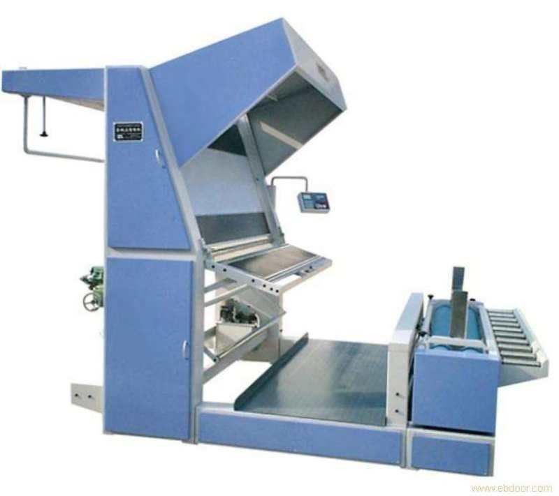 Multi Functional Textile Inspection Machines With Rolling Function Vertical Type